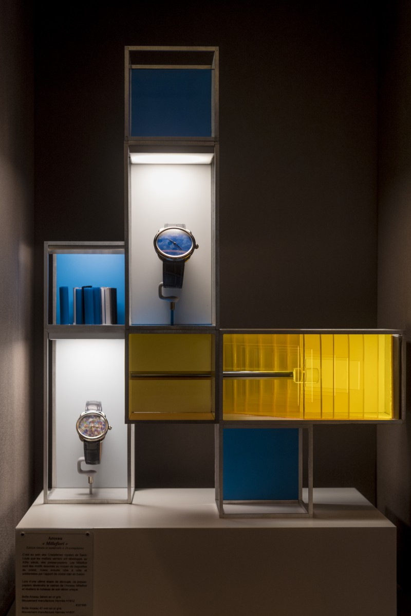 Hermes Crafting time exhibition 2016