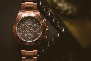 The Elegant Rose Gold Rolex Daytona Chronograph Titan Black Replica Watch