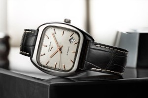The Elegant Cushion Case Steel Longines Heritage 1969 Replica Watch