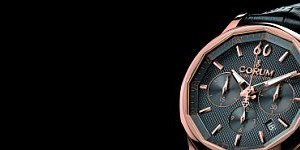 The Rose Gold Corum Admiral's Cup Legend 42 Chronograph Watch Replica