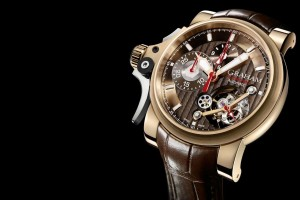 Graham Chronofighter Trigger Flyback Tourbillon watch replica