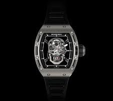 Richard Mille tourbillon RM 052 skull replica