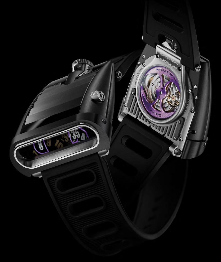 MB&F HM5 CarbonMacrolon Watch Watch Releases