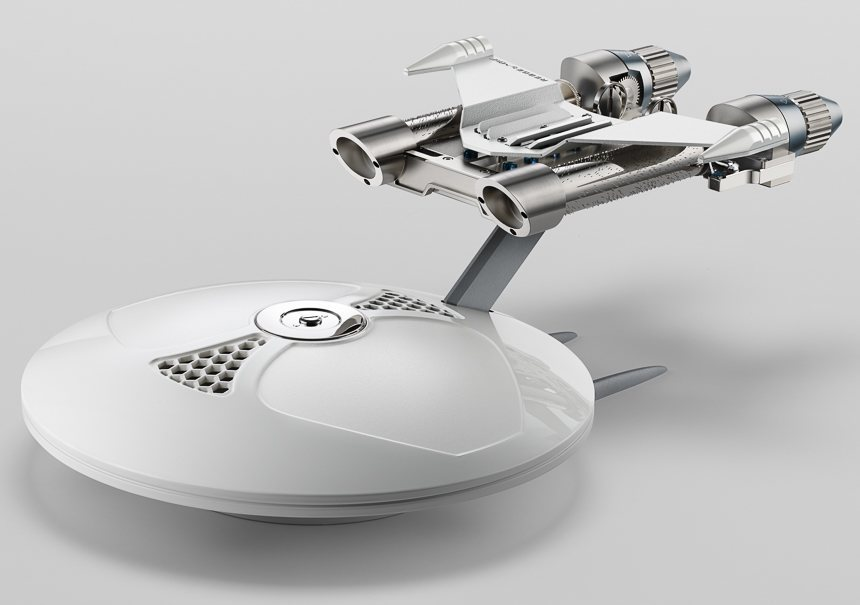 MB&F MusicMachine 2 Is Musical Ode To Star Trek USS Enterprise Luxury Items