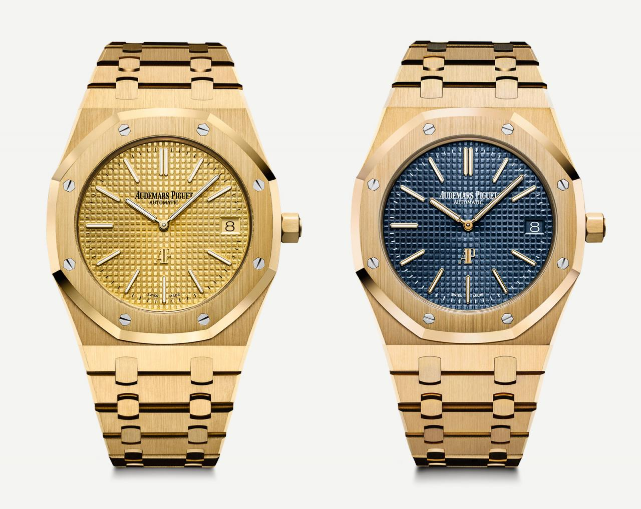 Audemars Piguet Royal Oak Extra-Thin Yellow Gold 4