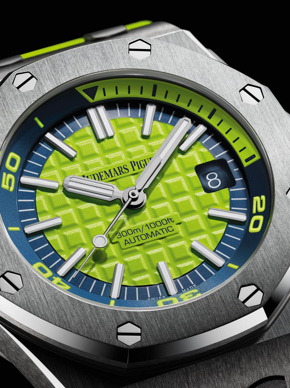 Audemars Piguet Royal Oak Offshore Diver green